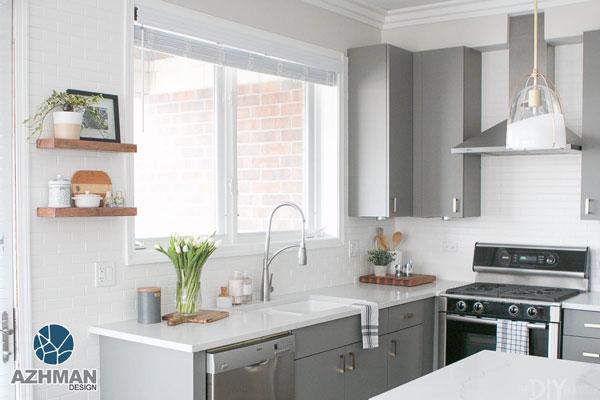 آشپزخانه مدرن و کوچک