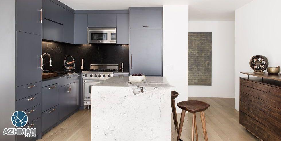طراحی آشپزخانه کوچک مدرن