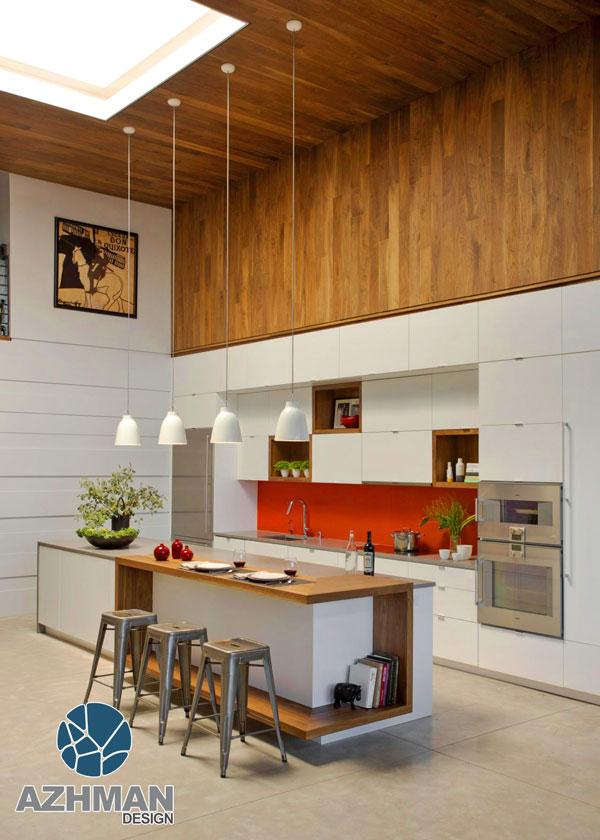 جزیره های مدرن آشپزخانه
