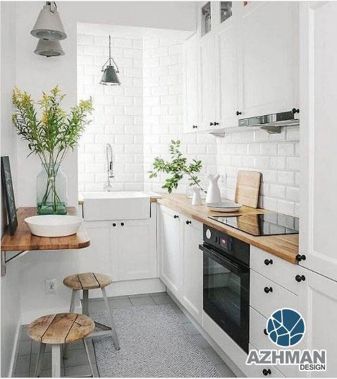 آشپزخانه مدرن کوچک
