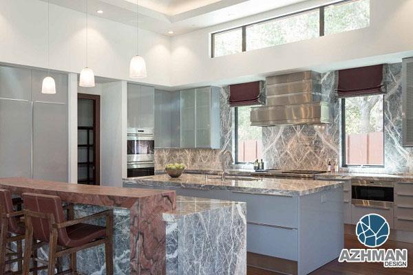 پوشش برای اپن آشپزخانه