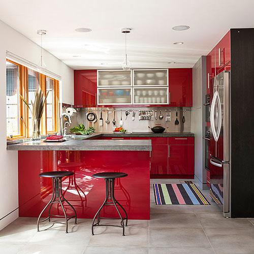 بهترین رنگ برای آشپزخانه کوچک