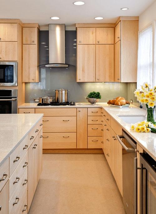 رنگ آشپزخانه کوچک